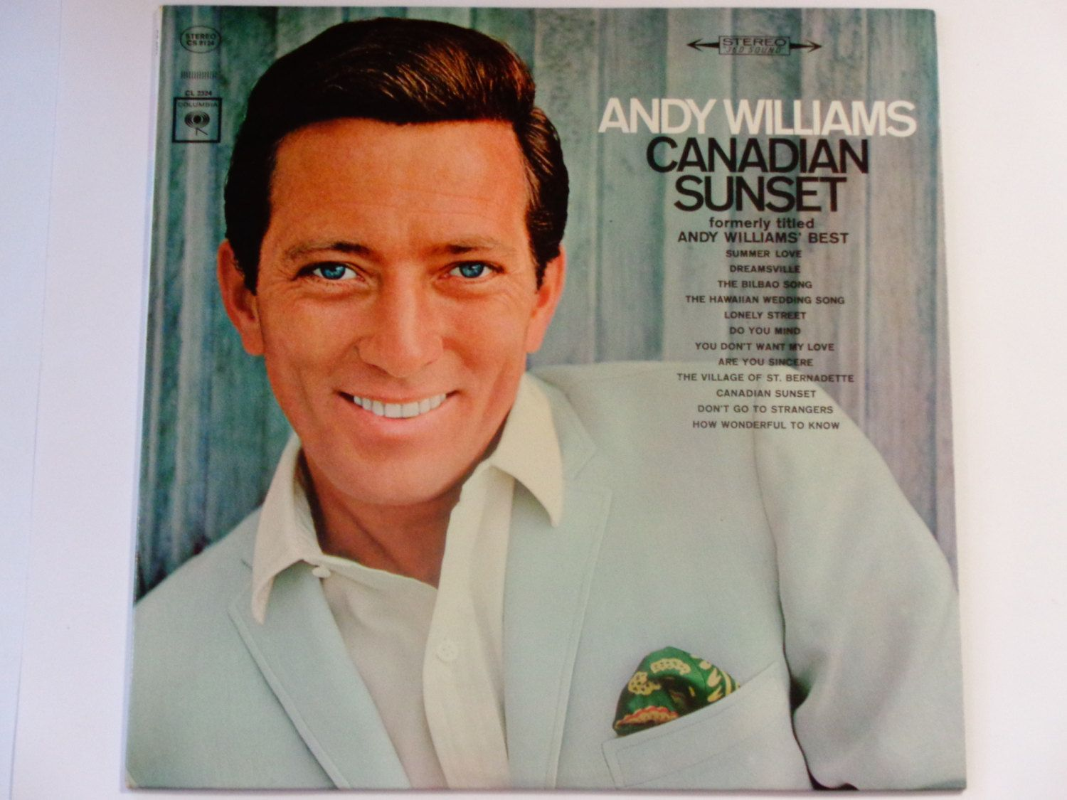 Andy Williams Canadian Sunset Quot The Hawaiian Wedding Song Quot Quot Are You Sincere Quot Colum Andy Williams Try To Remember Lyrics Record Album