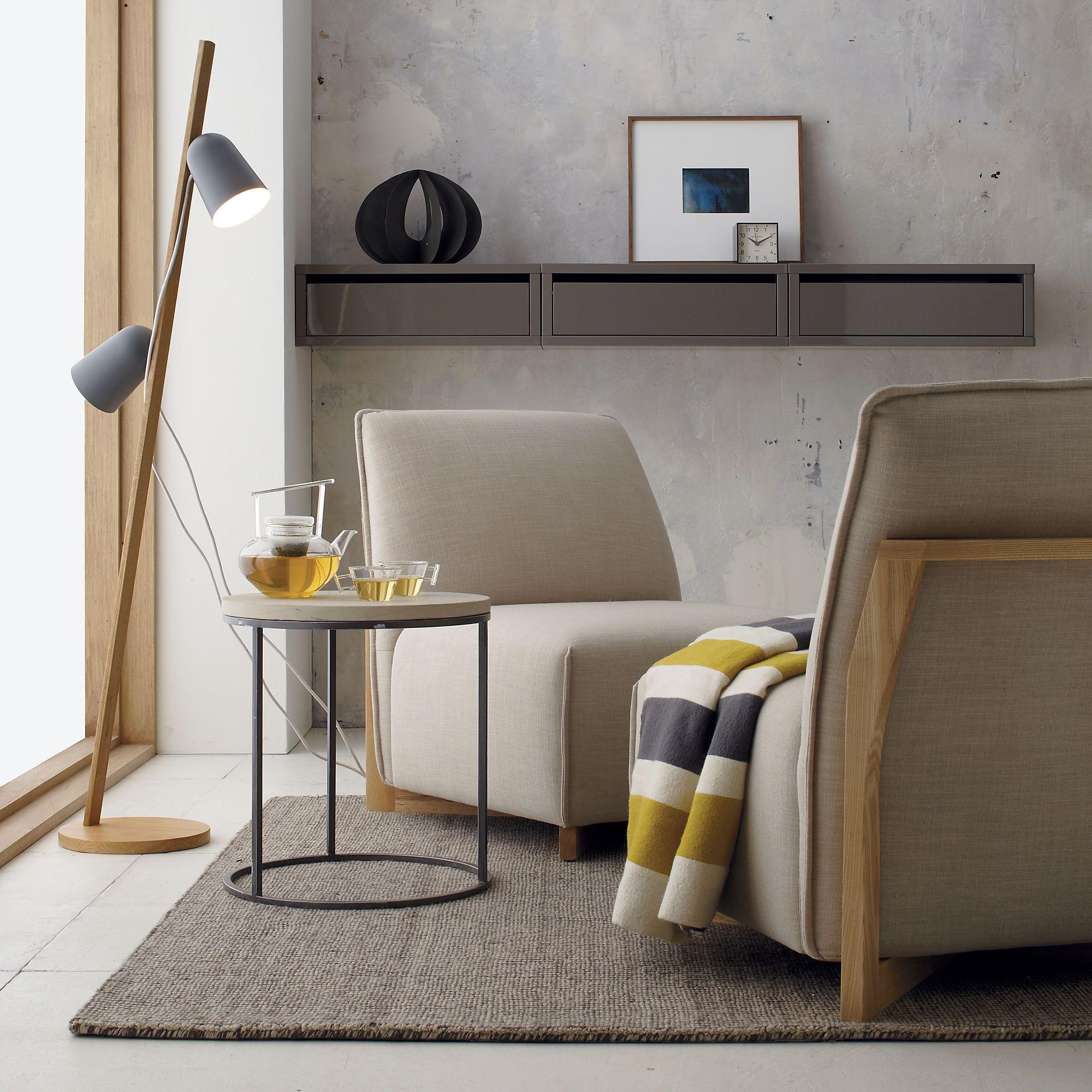 tweed rug in rugs   CB2