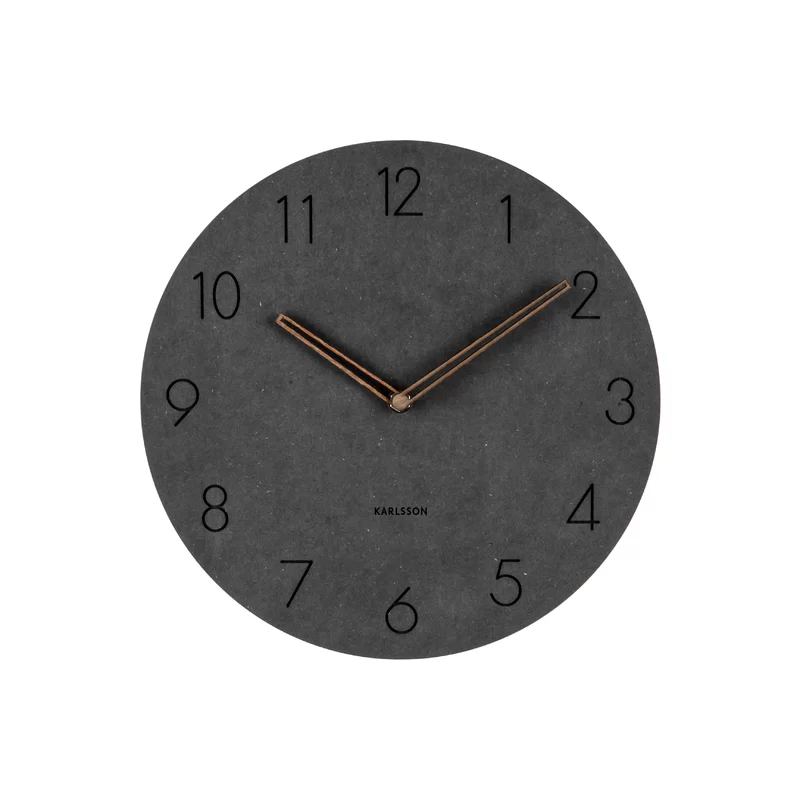 Karlsson Dura Korean 11 Wall Clock Wayfair Big Wall Clocks Wall Clock Wall Clock Modern
