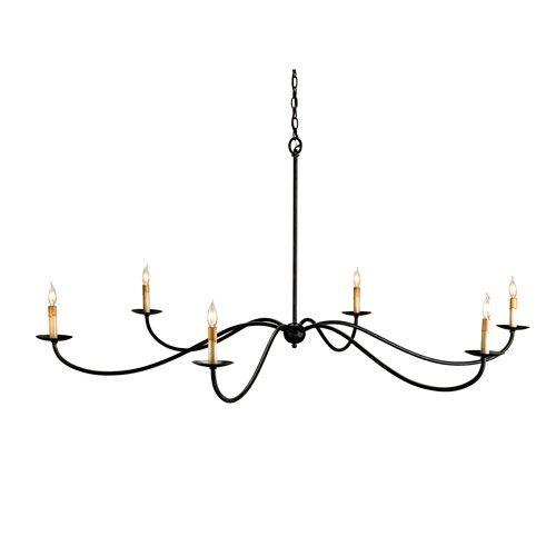 Currey company saxon chandelier