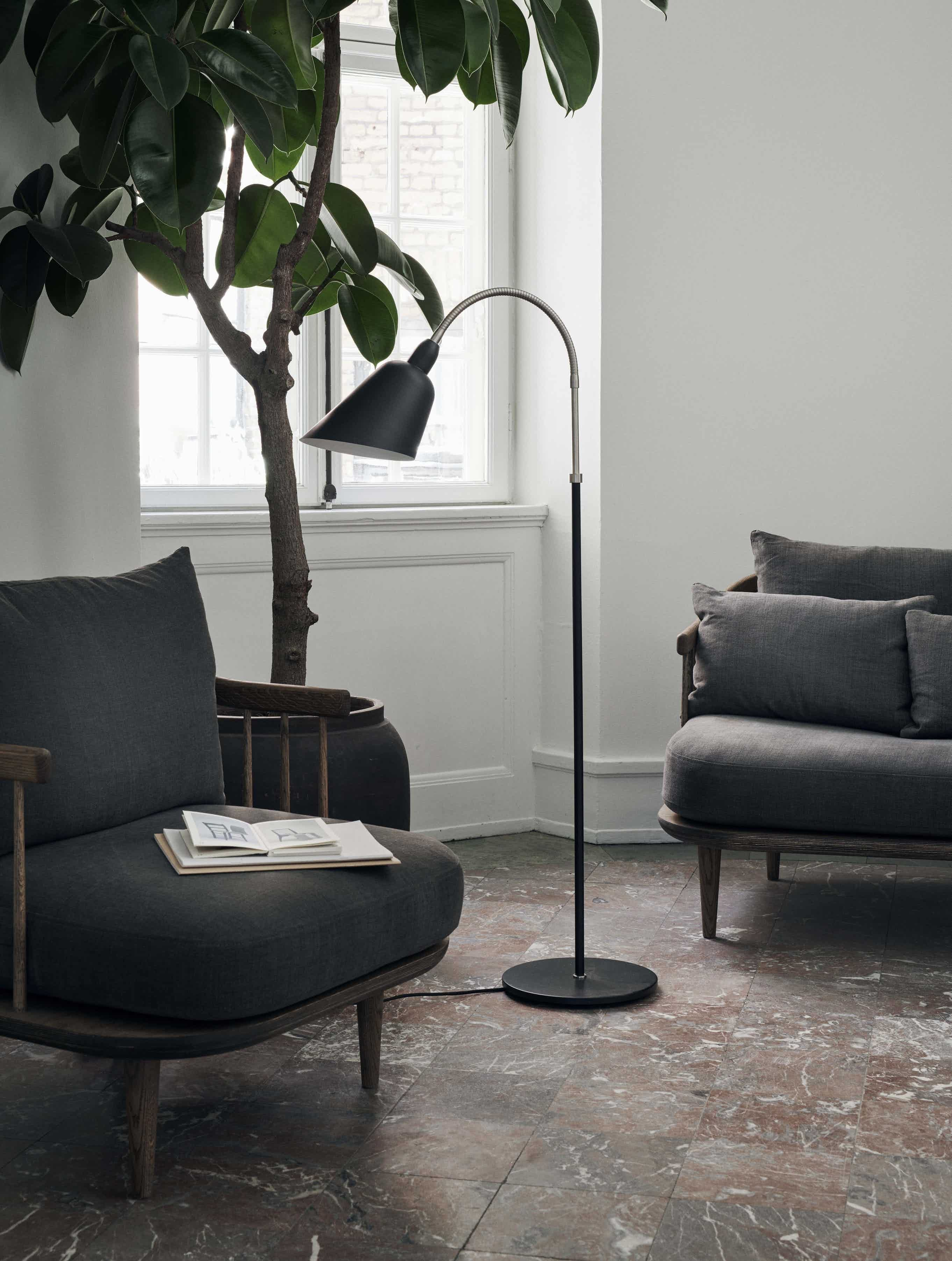 Bellevue Floor Lamp By Tradition Now Available At Haute Living Lamp Black Floor Lamp Floor Lamp