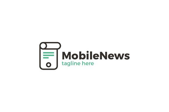 Mobile News Logo | Mobile news, Logo templates and Logos