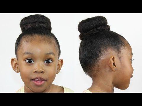 Bun Braid Hairstyle Ballet Hairstyle Youtube Ballet Hairstyles Ballet Bun Kids Hairstyles