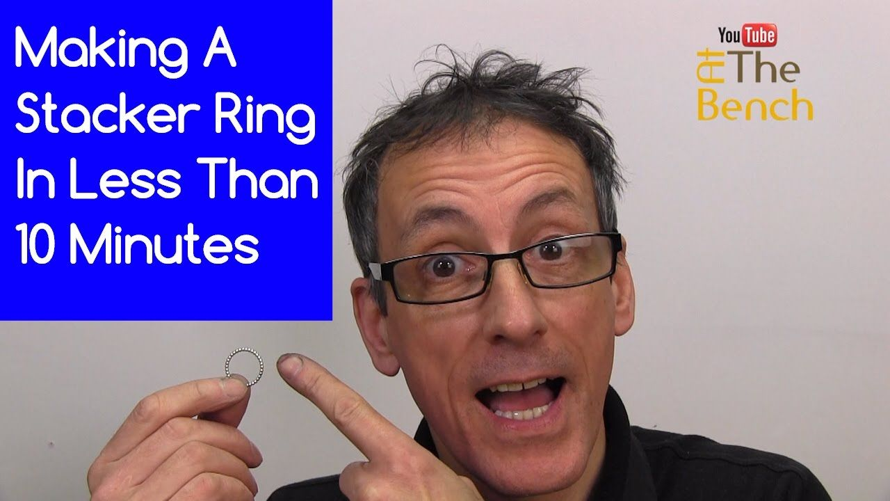 Making A Silver Stacker Ring In 10 Minutes - Making Your Own Silver Jewe...