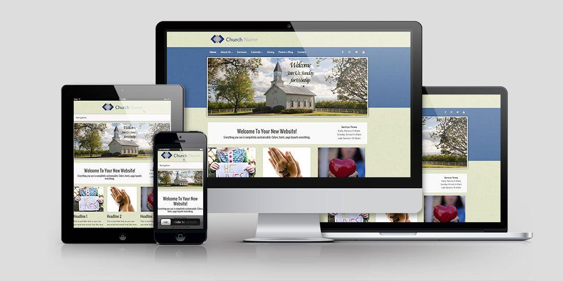 Church Website Design CD104