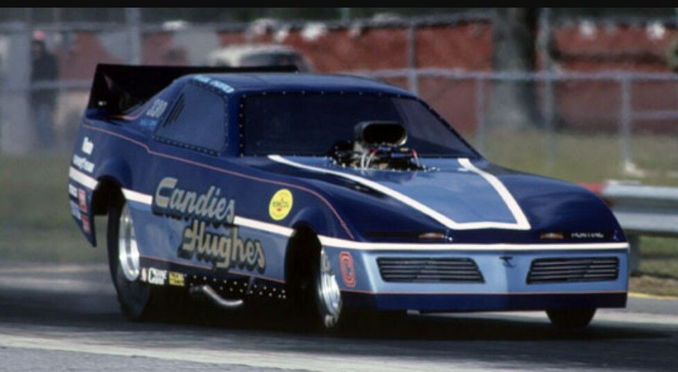 Mark Oswald piloting the Candies & Hughes Trans Am, 1983. | Drag ...