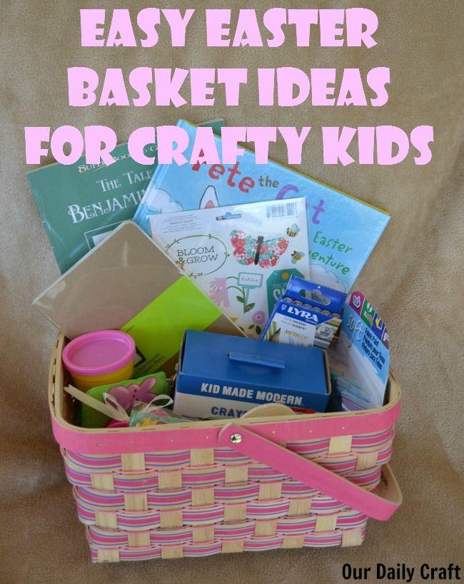 easy easter basket ideas for crafty kids crafty kids basket ideas