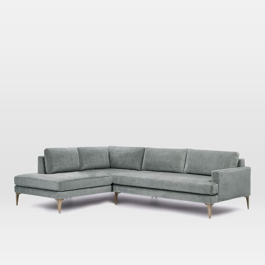 Andes 3 Piece L Shaped Sectional In 2020 Reclining Sectional