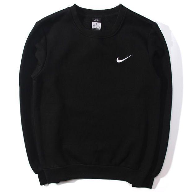 women quotnikequot round neck top pullover sweater sweatshirt