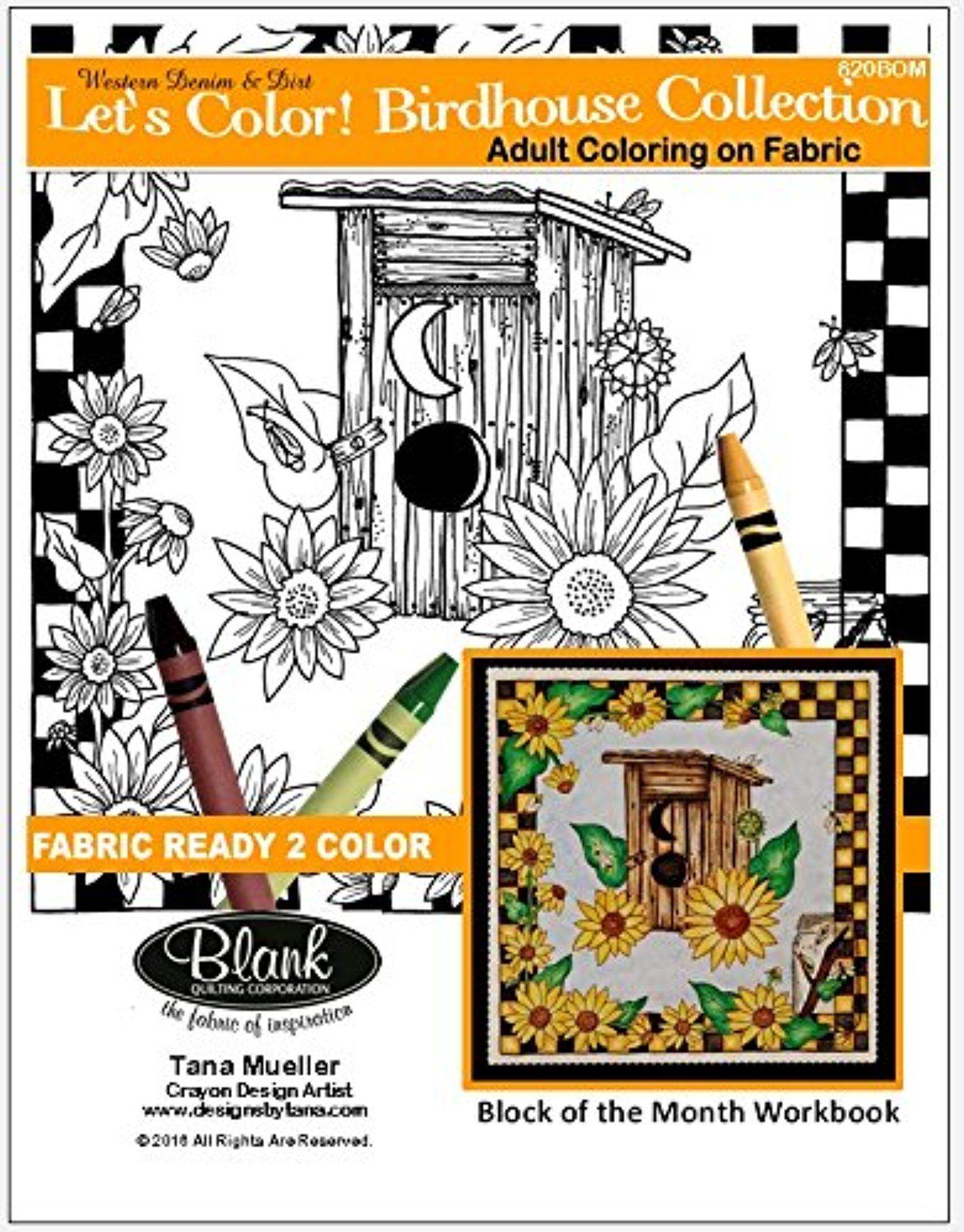 Let\'s Color! Birdhouse Collection Workbook for Adult Coloring on ...