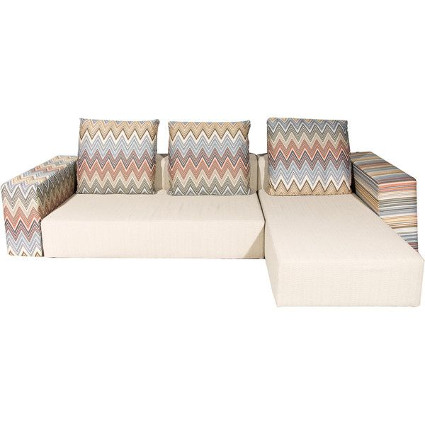 Pre-owned Missoni Kew Sofa (9,815 CAD) ❤ liked on Polyvore ...