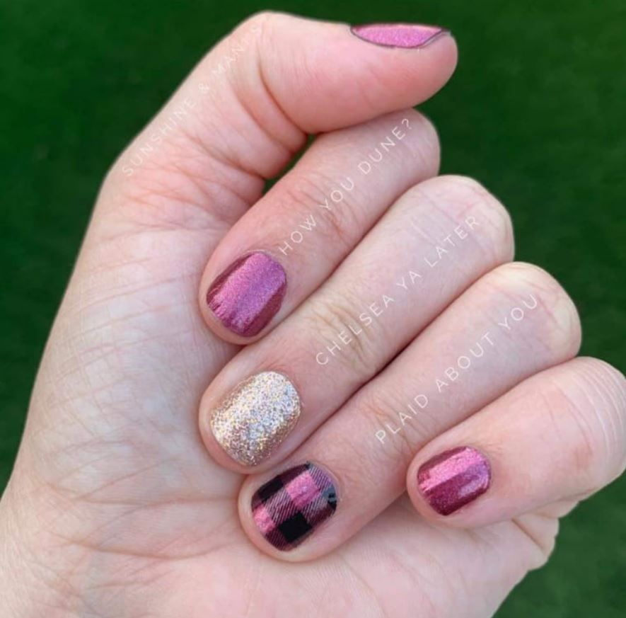 Color Street Mixed Mani In 2020 Color Street Nails Nail Color Combos Color Street