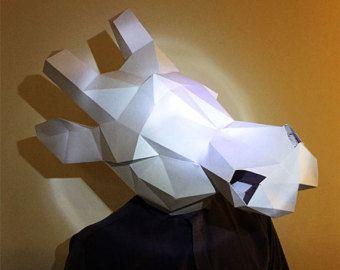 diy mask paper – Etsy NL