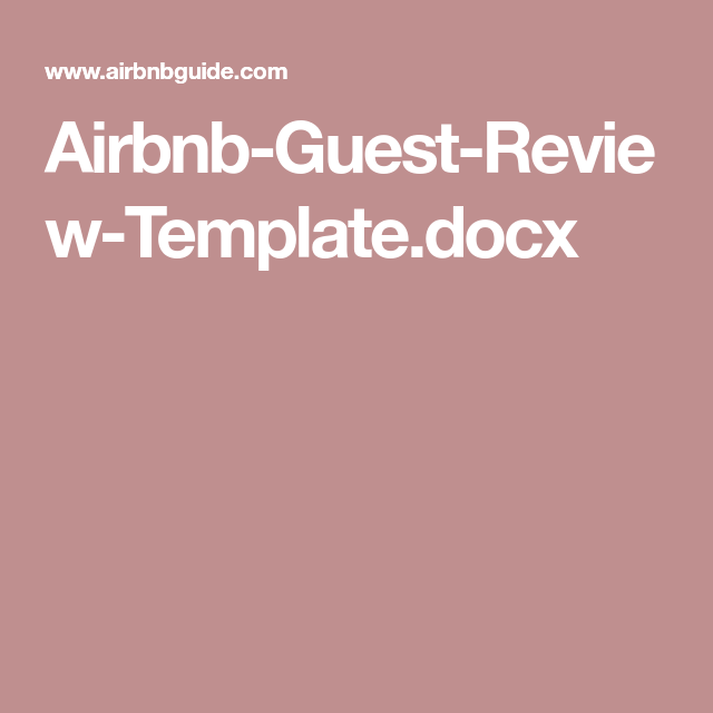 Airbnb House Rules Template | airbnb | Airbnb house rules