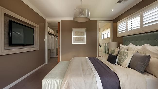 The master bedroom has an ensuite and a walk in wardrobe ensuite pinterest master bedroom Wardrobe in master bedroom