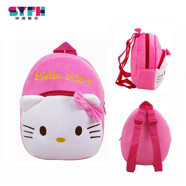 School Bags New Cute Childrens School Bag Cartoon Mini Plush Backpack For Kindergarten Boys Girls Baby Kids Gift Student Lovely Schoolbag Goods Of Every Description Are Available