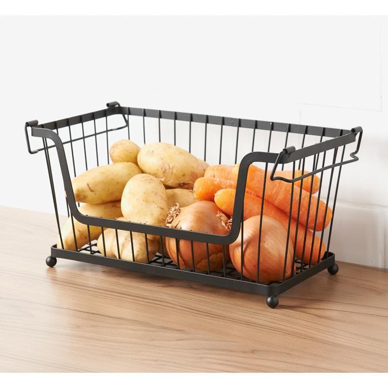 Stackable Basket Stackable baskets, Kitchen accessories