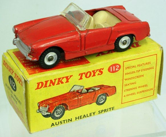 Another one from our marketplace! Dinky Austin Healey Sprite! http://www.toycollector.com/index.php?option=com_bids=viewbids=128=2352