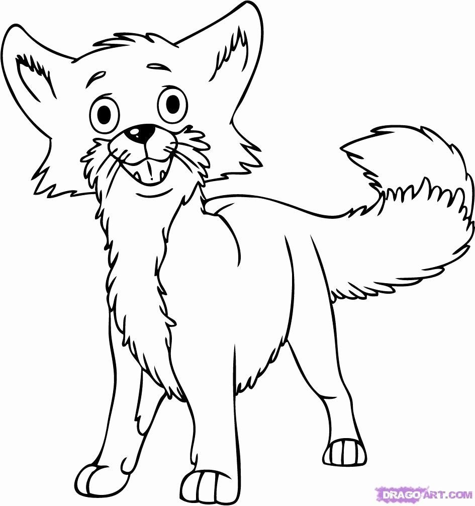 Red Fox Coloring Page Fox Coloring Page Art Line Art