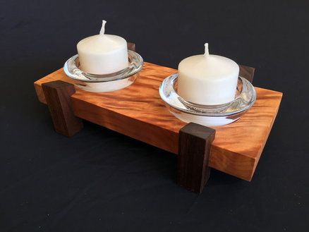 Scrap Wood Candle Holder Wood Candles Wood Candle Holders Candles