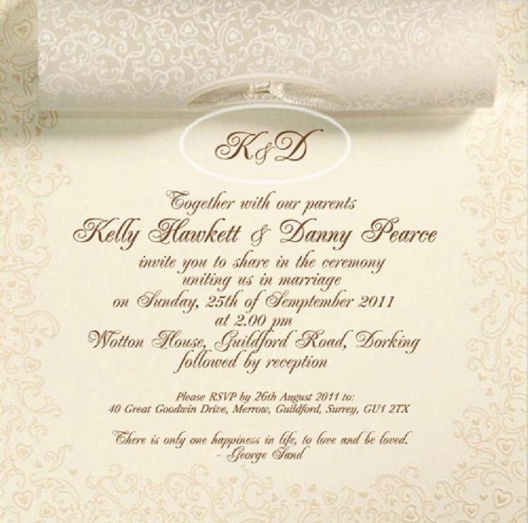 Traditional Wedding Invitations Wording Uk Invitation Ideas