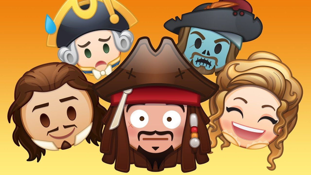 Pirates Of The Caribbean As Told By Emoji Disney Youtube Disney Emoji Blitz Disney Emoji Pirates Of The Caribbean
