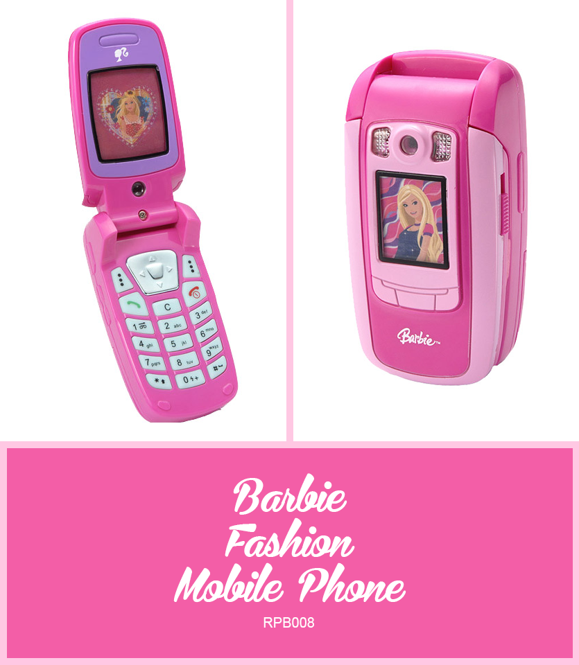 Barbie fashion mobile phone lexibook for children - Telephone barbie ...