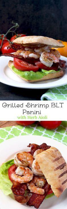 Grilled Shrimp BLT P