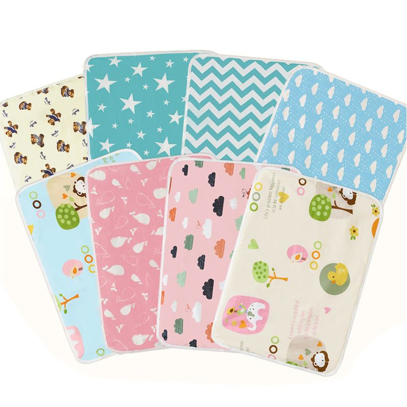 Baby Diaper Nappy Urine Mat Kids Waterproof Bedding Changing Cover Pads