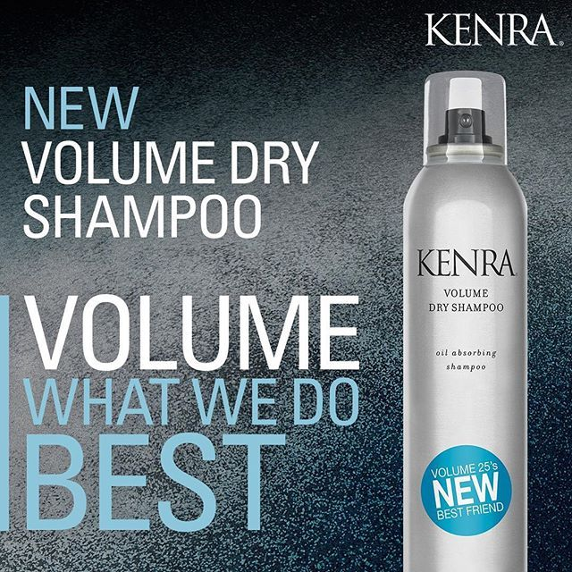 Introducing New Kenra Volume Dry Shampoo It Instantly Refreshes Hair At The Roots This Revolutionary Translucent Spray Dry Shampoo Kenra Kenra Hair Products