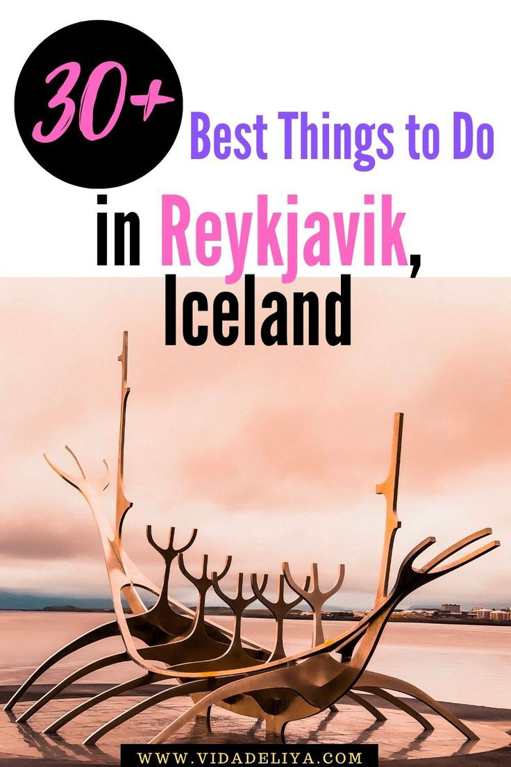 Wondering how to spend a day or 2 at Reykjavik, Iceland?   This is a curated list of the 30+ best things in this Icelandic capital city, from the guided tour at Harpa Concert Hall to the street art, shopping along Laugavegur, Icelandic street food (Icelandic meat soup & hotdogs) and more! Recommendations also include day trips out of Reykjavik to famous waterfalls (Gullfoss, Seljalandsfoss), craters (Kerid Crater) & so much more.   #Iceland #Iceland travel #VisitIceland #Museums #Park #Europe
