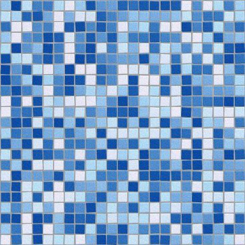 Blue Mosaic Tile Background Seamless Pattern Background Or