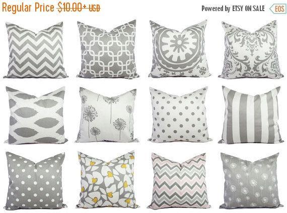 grey pillows grey pillow covers