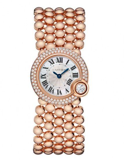 ساعات كارتييه Cartier 2014 Cartier Diamond Watch Cartier Watch Gold Watch