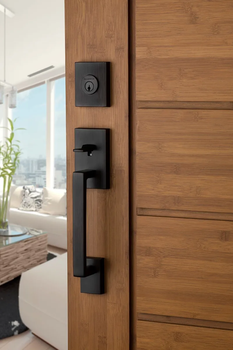Baldwin Sc Lajxsqu L Csr Smt Build Com In 2021 Exterior Door Hardware Home Door Design Front Door Hardware