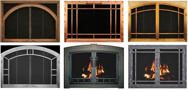 Fireplace Doors Fireplace Doors Glass Fireplace Doors And