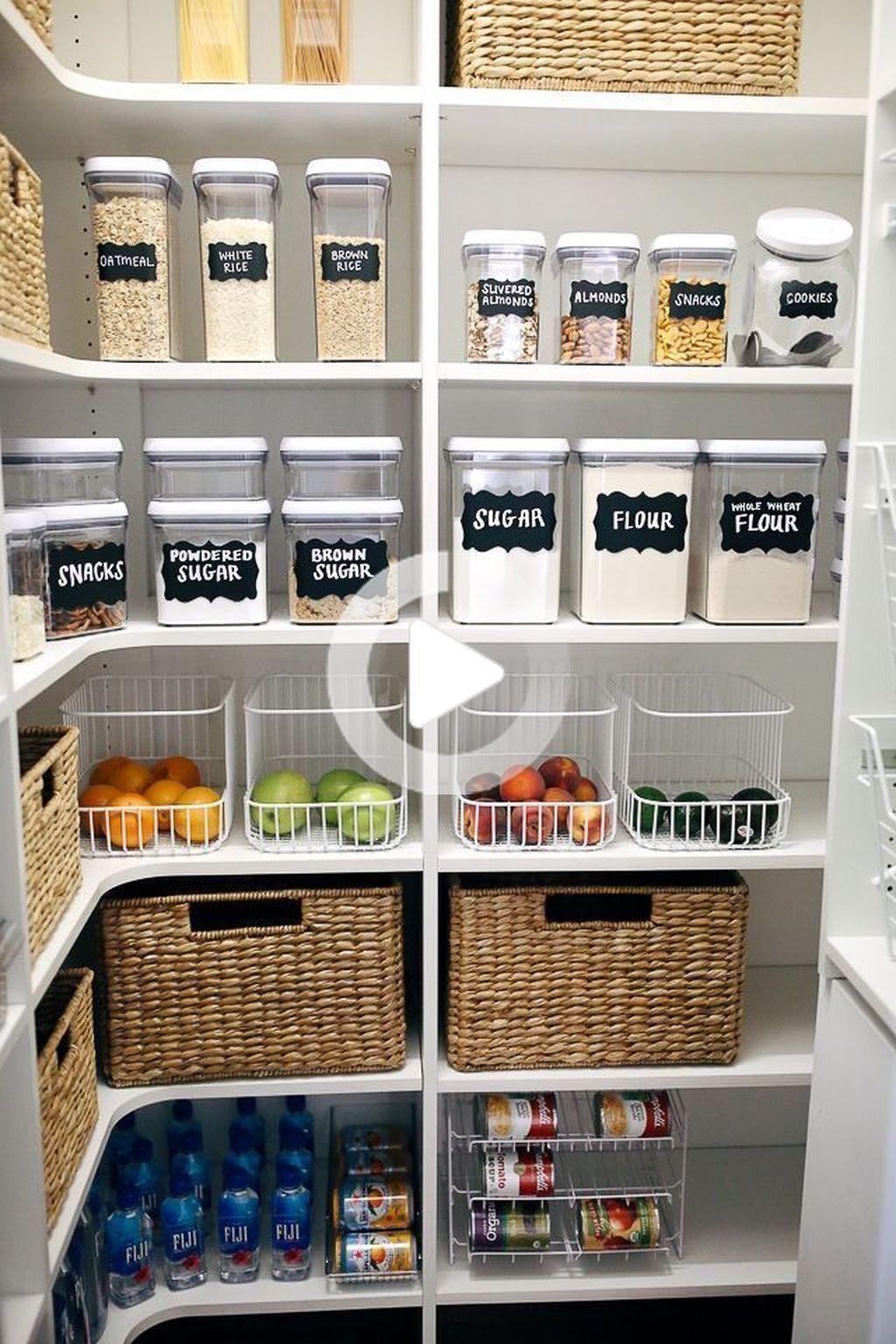 Pantry Closet Organization Ideas
