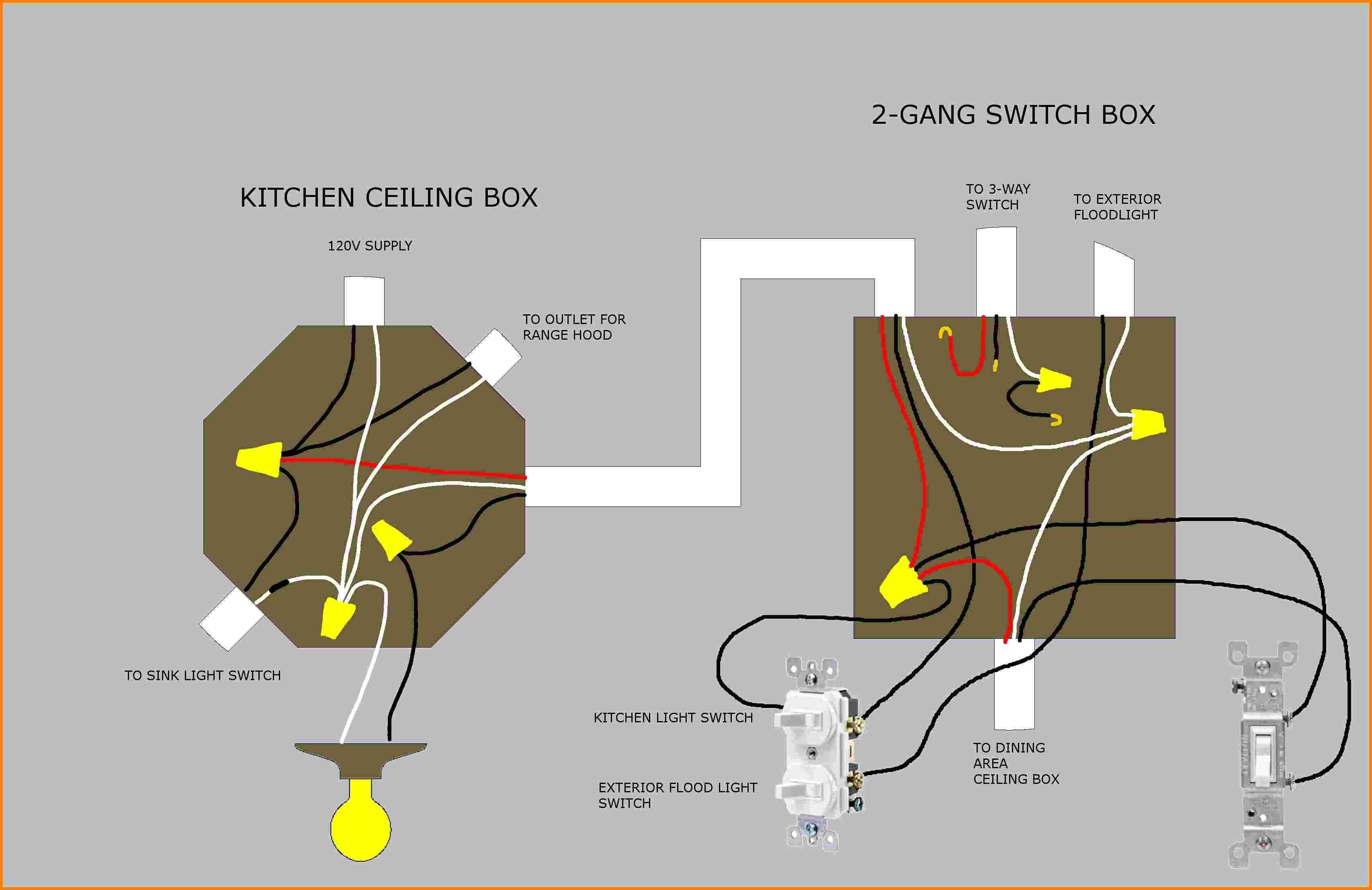 Wiring Diagram 3 Way Switch Unique Wiring Diagram For Three Way Switch With Two Lights Reference 3