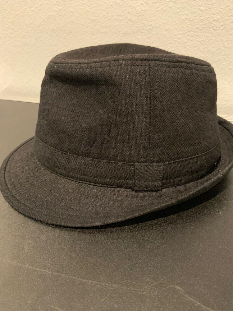 ac8aa41bbecdd Men s Women s Classic Thick Short Brim Manhattan Gangster Trilby Cap Fedora  Hat  fashion  clothing