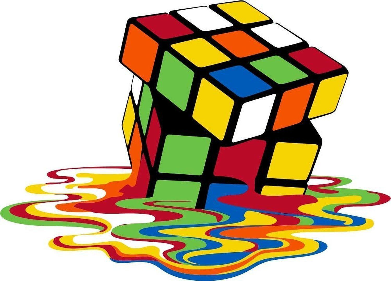5 99 Rubiks Cube Melting Love 80 S Iron On T Shirt Pillowcase Fabric Transfer 109 Ebay Home Garden Rubiks Cube Cube Image Cube