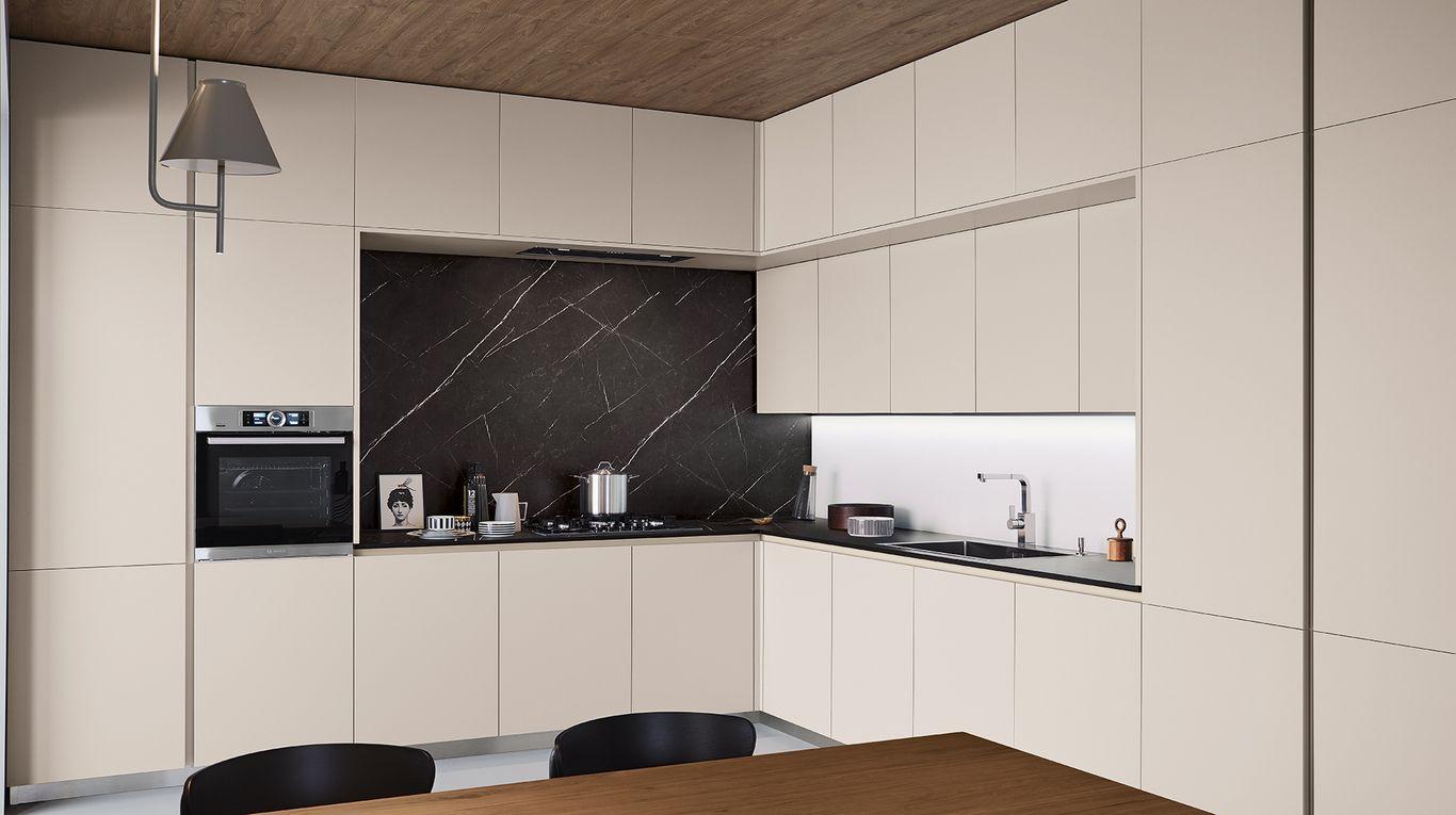 Lounge quercia Decorativo e grigio corda Veneta Cucine | cucine ...