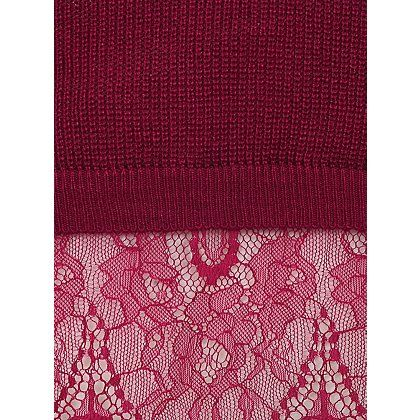 2-in-1 Lace Panel Knitted Jumper | Women | George at ASDA