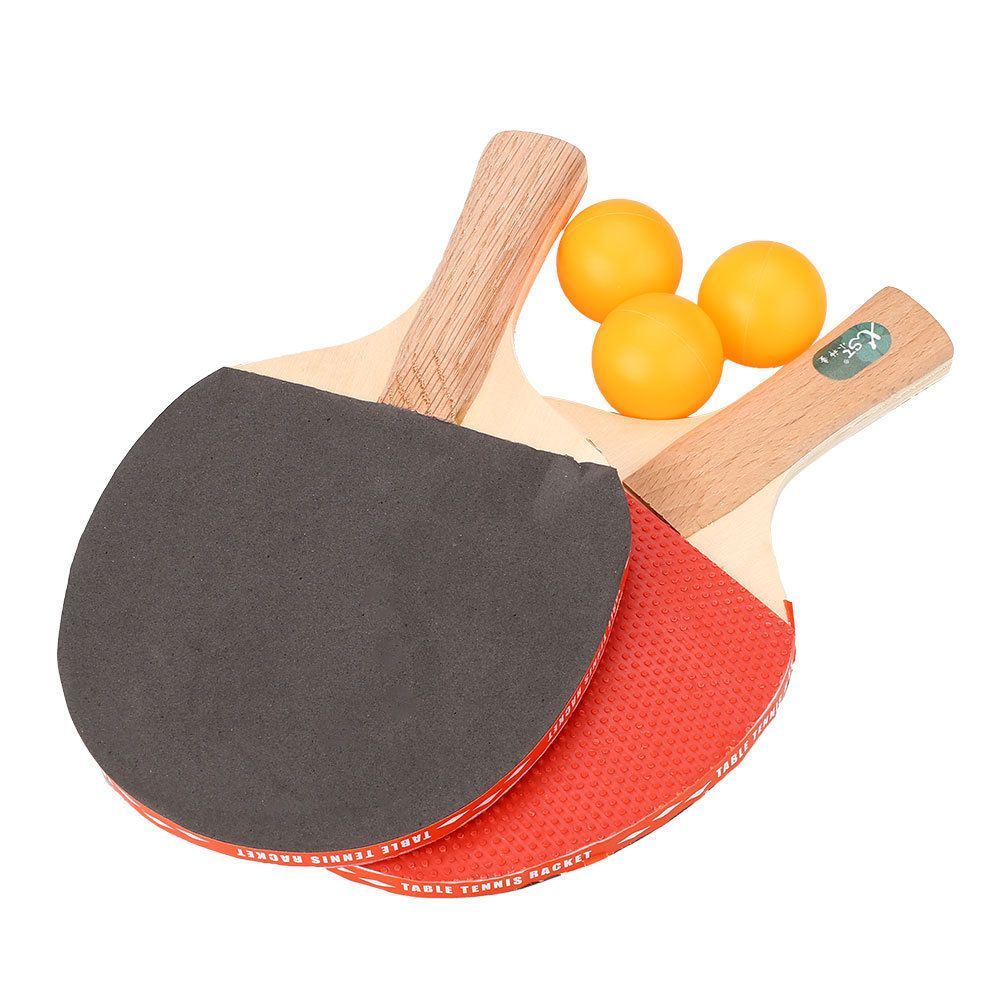 9 59 Aud Table Tennis Racket Professional Ping Pong Paddle Bat W 3 Balls Sports Training Ebay Lifestyle Table Tennis Racket Tennis Racket Ping Pong Paddles