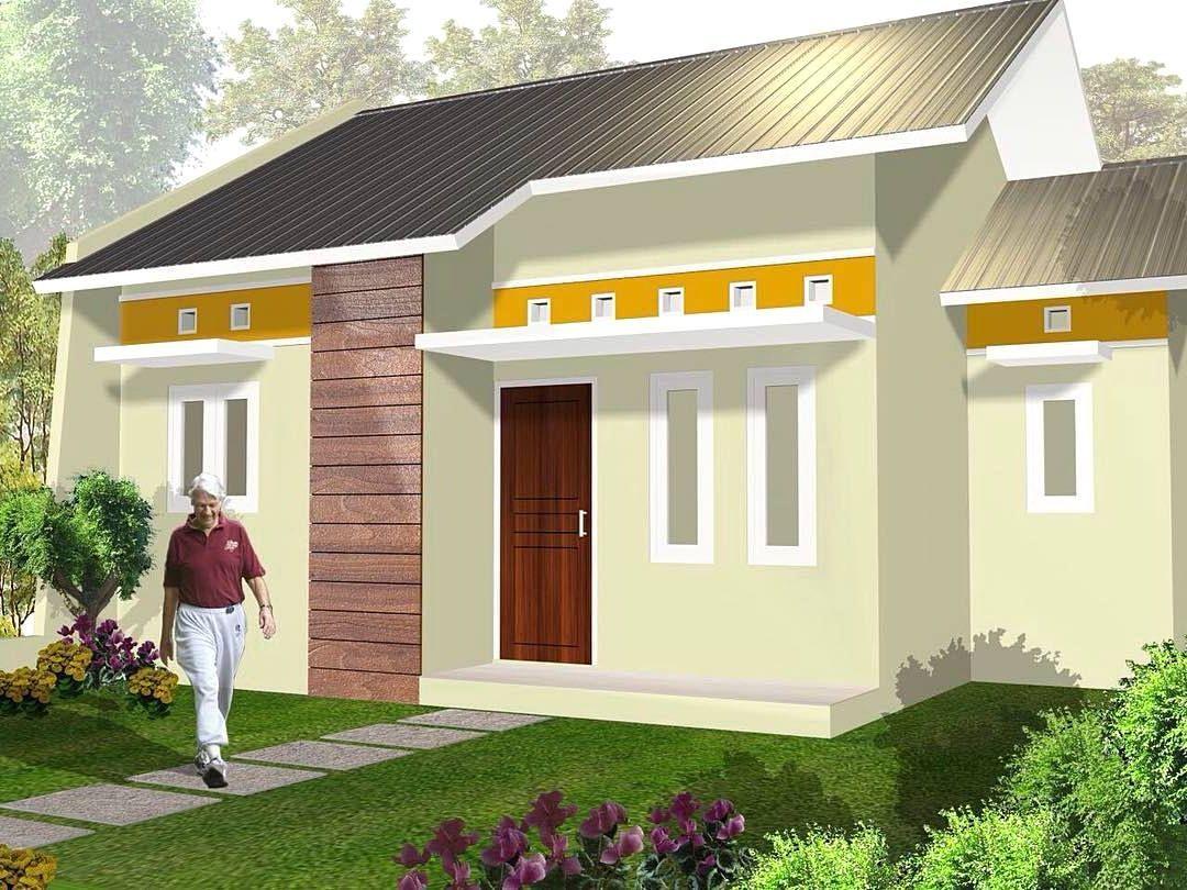 Bagian Luar Warna Cat Dinding Luar Rumah Yang Cerah ...