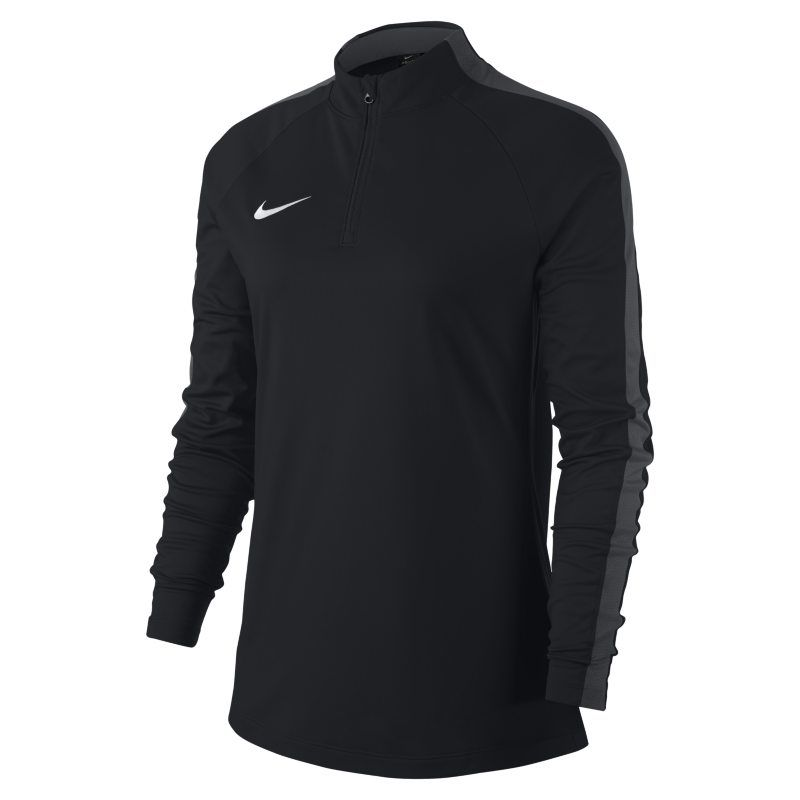 Nike Dri-FIT Academy Drill Women s Long-Sleeve Football Top - Black ... 7f2af5a29c