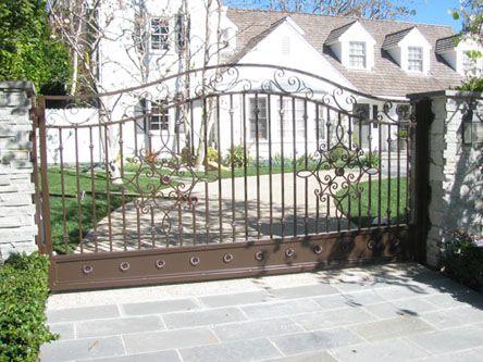Custom Wrought Iron Gates With Images Iron Gates Iron Doors