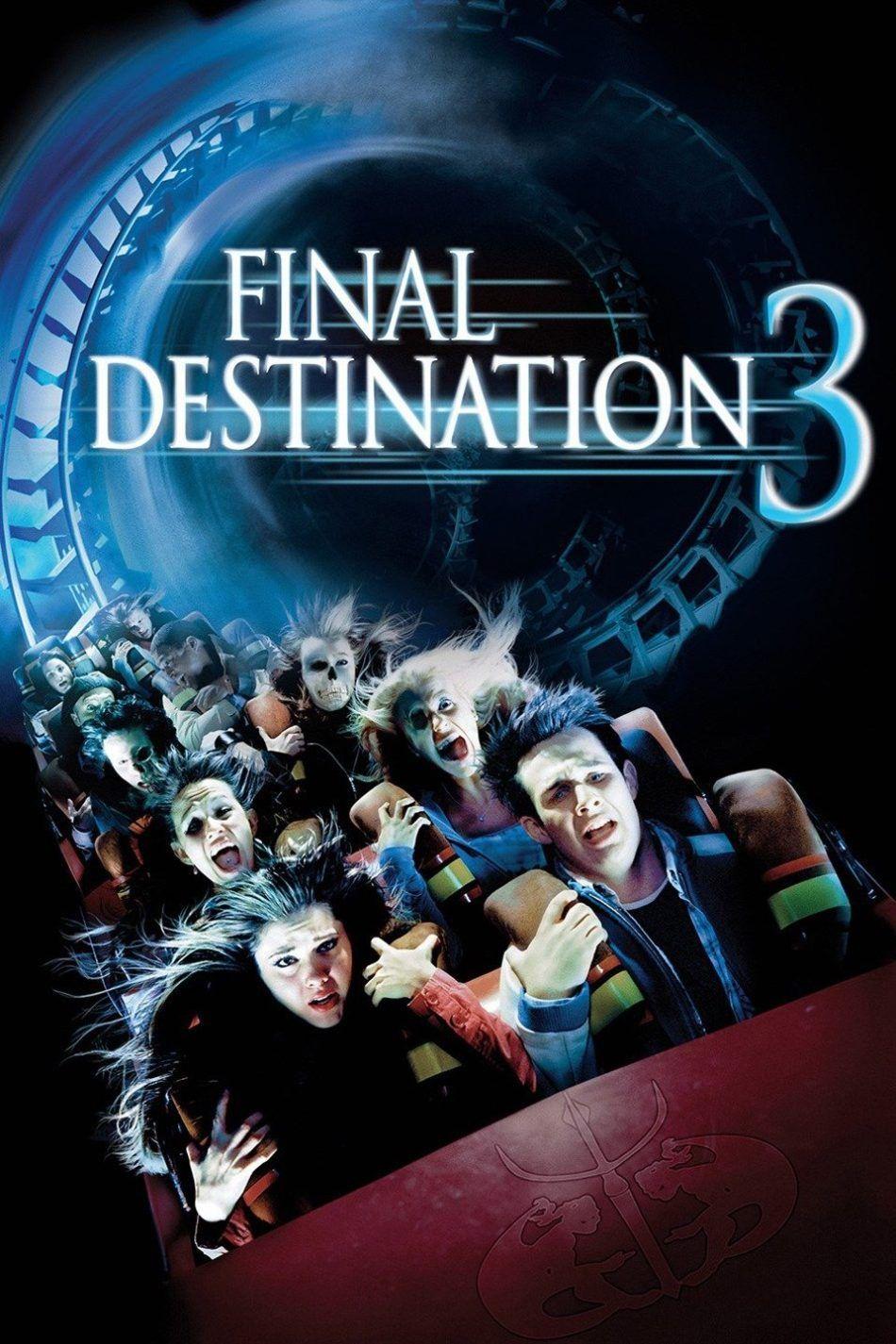 Download Final Destination 3 2006 Dual Audio English Hindi 720p Destino Final 3 Poster De Peliculas Peliculas De Terror