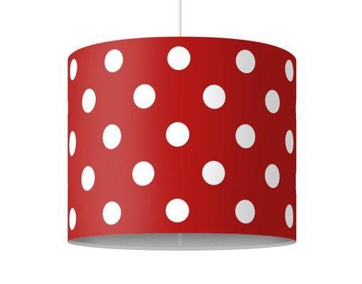 Hänge#lampe No.DS92 Punktdesign Girly #Rot #Flur #Gestaltung #Diele ...