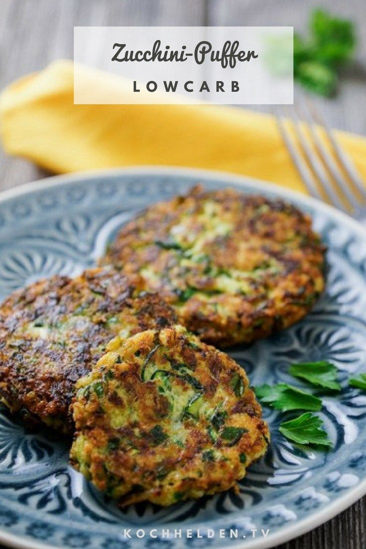 Photo of Low carb zucchini buffer – gluten free