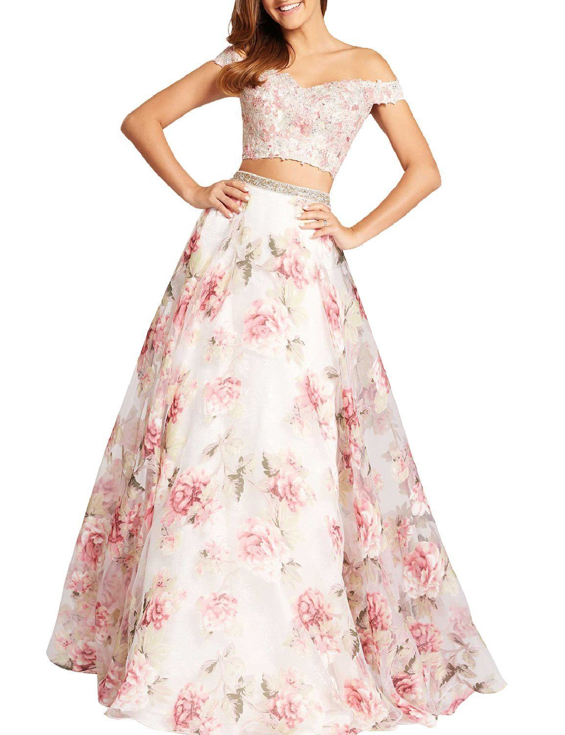 Amazon lmbridal womenus embroidery floral print ball gown v